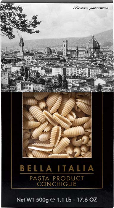 CONCHIGLIE 500g durum wheat semolina