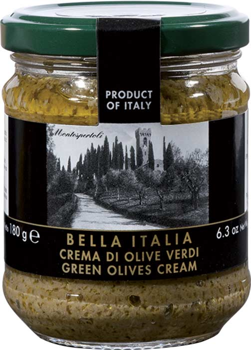 GREEN OLIVE SPREAD 180g