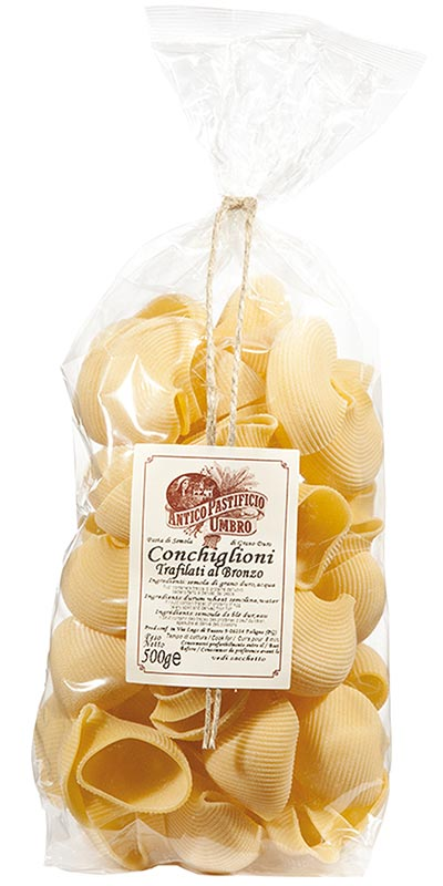 CONCHIGLIONI (large shells) 500g bronze-died