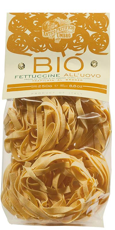 FETTUCCINE 250g durum wheat semolina all'uovo