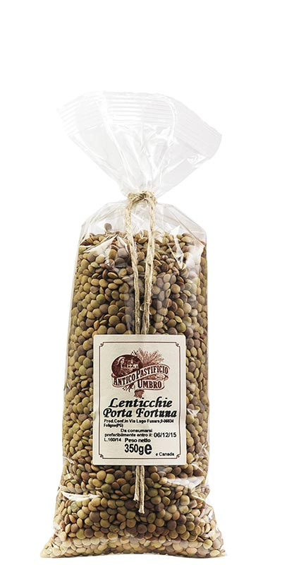 LENTILS 350g Good luck lentils in bag