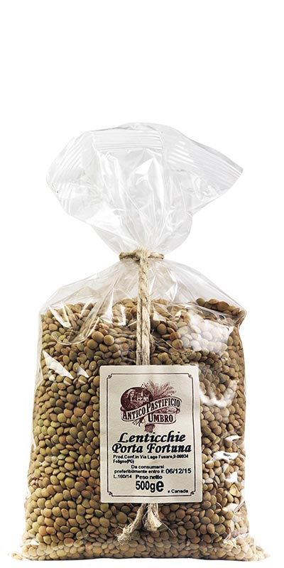 LENTILS 500g Good luck lentils in bag