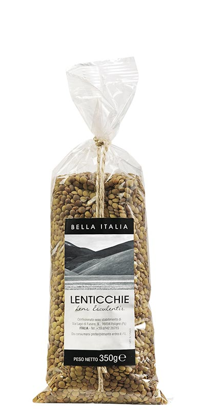 LENTILS 350g Bella Italia in bag