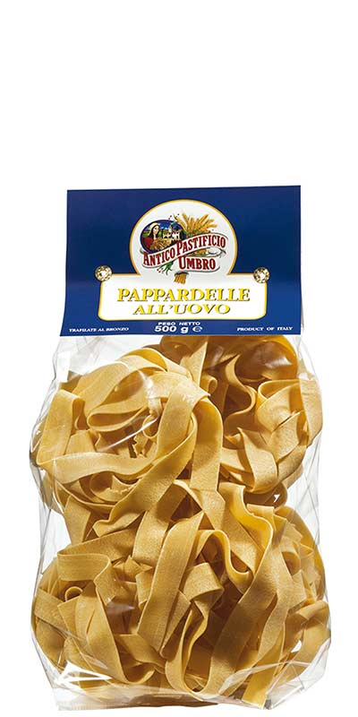 PAPPARDELLE (large ribbons) 500g with egg