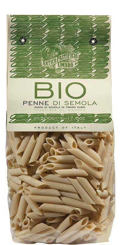 PENNE (quills) 500g durum wheat semolina