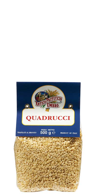 QUADRUCCI 500g all'uovo