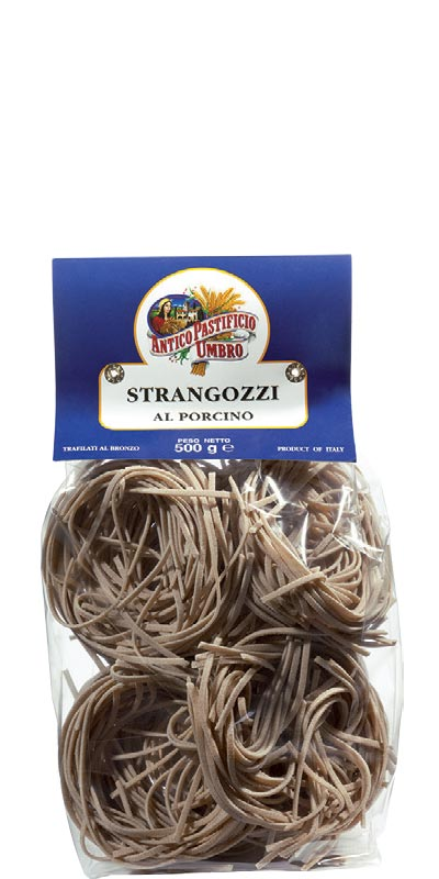 STRANGOZZI AL FUNGO PORCINO (with porcini mushroom) 500g durum wheat semolina