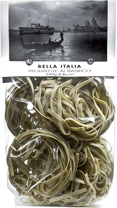 TAGLIATELLE 250g with basil
