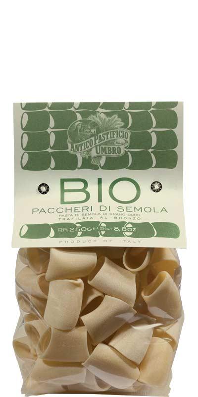 PACCHERI 250g / 500g semola di grano duro BIO 250/500g