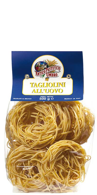 TAGLIOLINI (thin ribbons) 500g with egg
